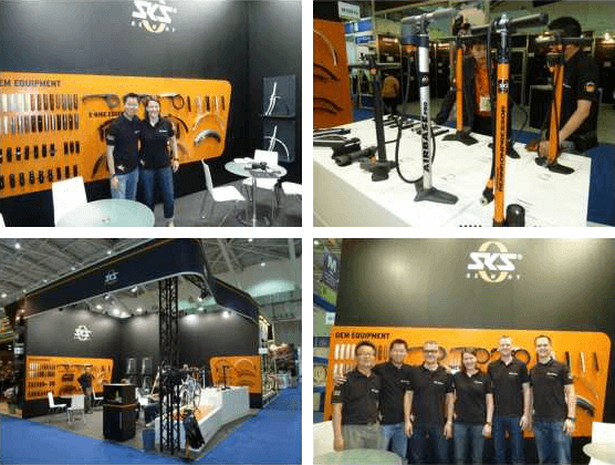 SKS Germany at the Taipeh International Cycle Show 2013
