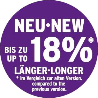 18% länger - longer - XXL Spoiler