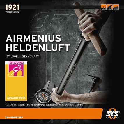 SKS AIRMENIUS received Eurobike 2013 Award