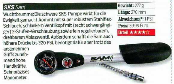 shock pump SAM