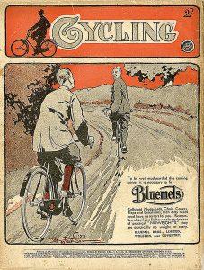 BLUEMELS-Plakat um 1920